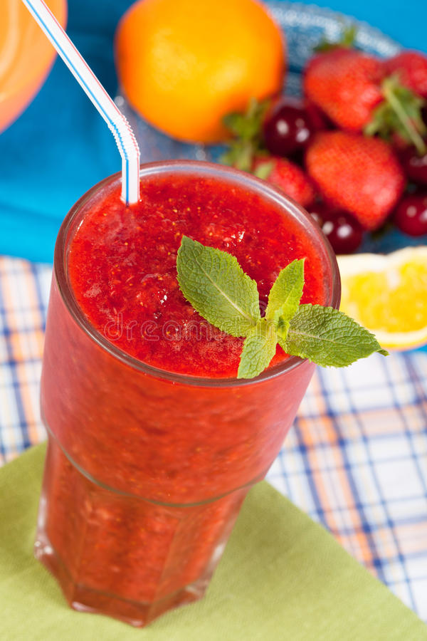 Download Strawberry smoothie stock photo. Image of lifestyle, diet - 20073156