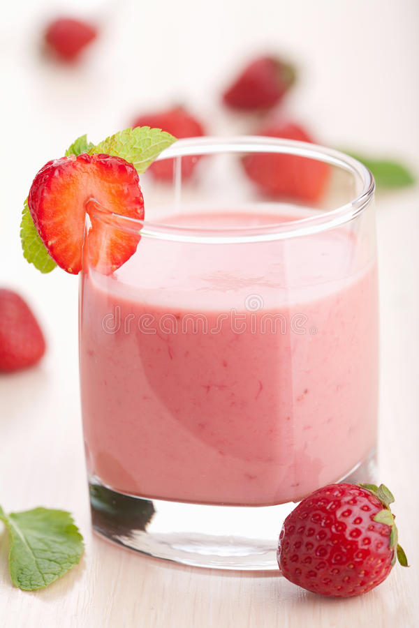 Download Strawberry smoothie stock photo. Image of drink, dairy - 23918884