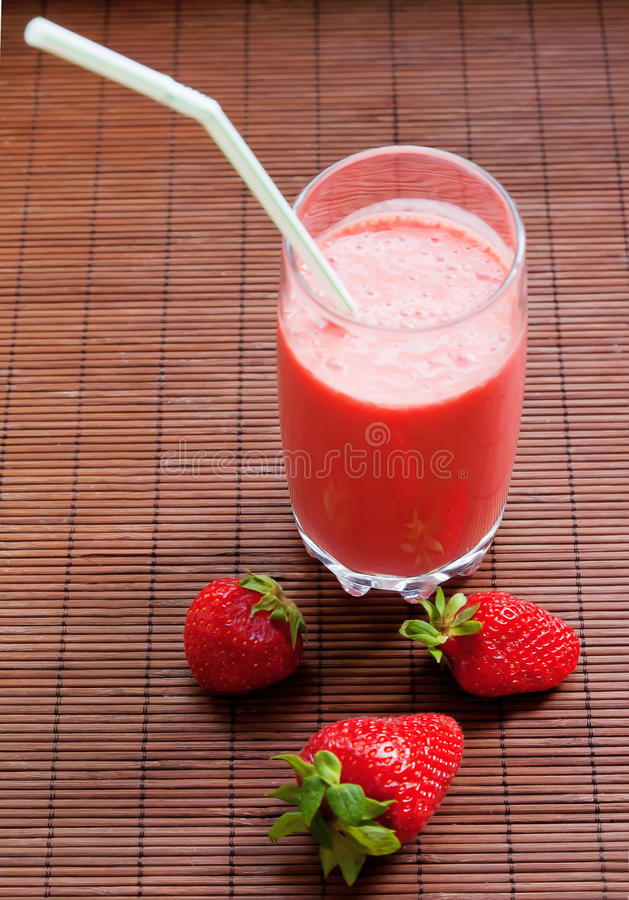 Download Strawberry Smoothie Stock Photography - Image: 24757732