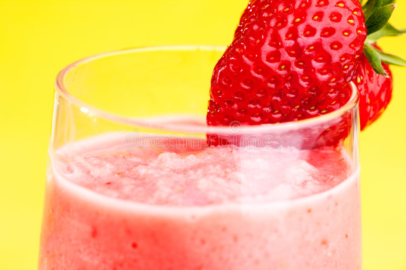 Download Strawberry Smoothie stock image. Image of frozen, pink - 9087391