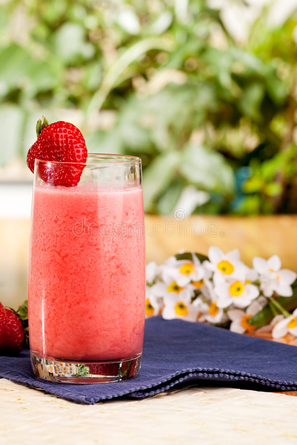 Download Strawberry Smoothie stock image. Image of nutritious, milk - 9087445