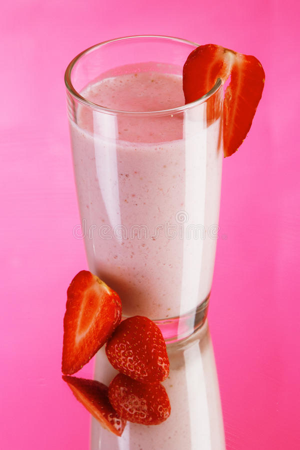 Download Strawberry smoothie drink stock photo. Image of shake - 25371296