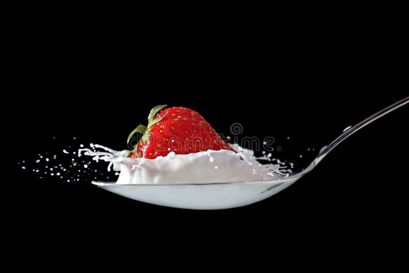 Download Strawberry splash stock image. Image of food, conceptual - 15781827