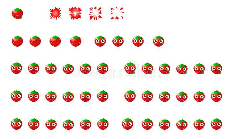Strawberry Sprites Splash stock photos