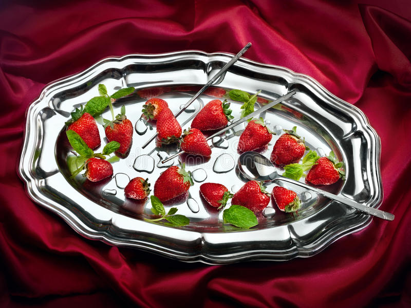 Download Strawberry stock photo. Image of concept, metal, nutrition - 31316186