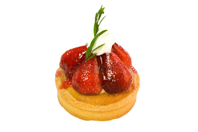 Download Strawberry tart stock image. Image of holiday, restaurant - 25623095