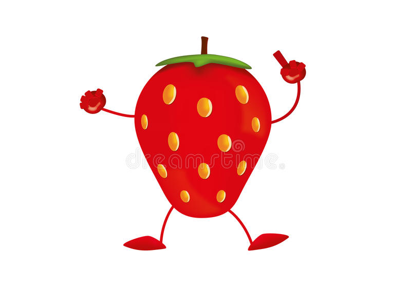 Download Strawberry stock vector. Image of fruit, delicious, great - 31755249