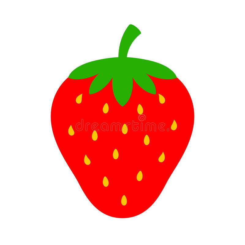 Download Strawberry Vector Icon Stock Vector - Image: 83720251
