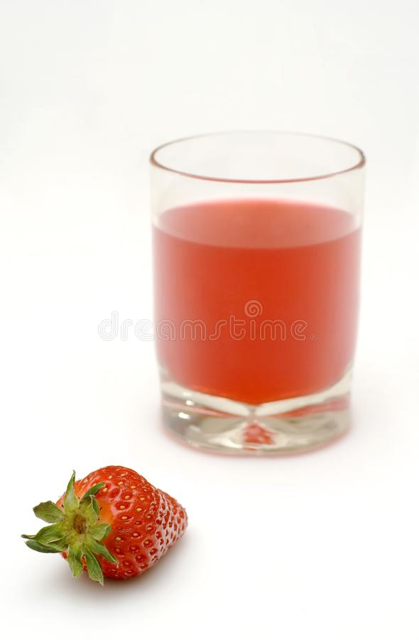 Strawberry wine stock photo