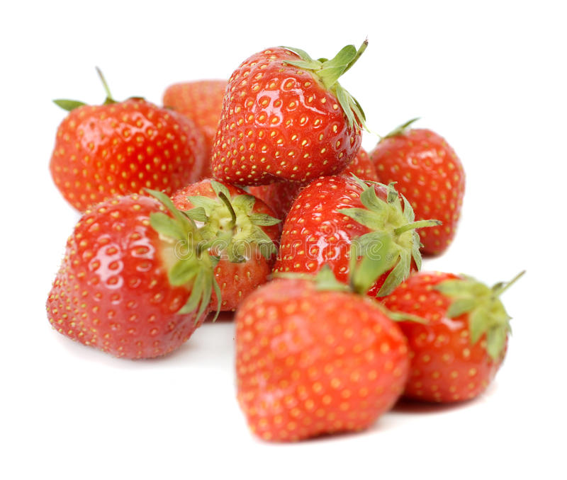 Download Strawberryes stock image. Image of nature, berry, green - 11929373