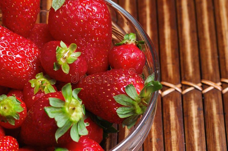 Strawberrys stockfoto