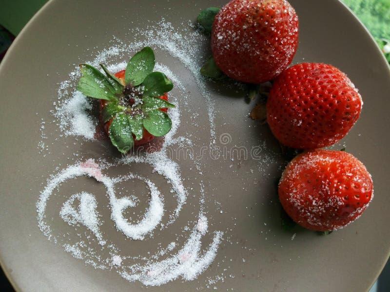 Strawbery στοκ εικόνα με δικαίωμα ελεύθερης χρήσης