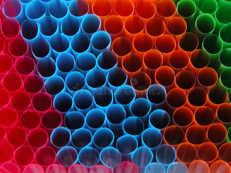 Download Straws stock photo. Image of lines, straw, plastic, striped - 464816