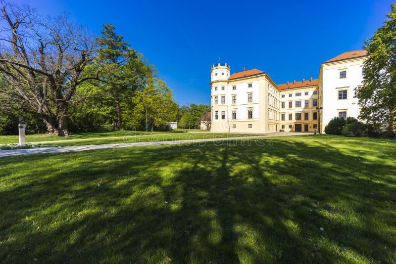 Straznice castle in Southern Moravia, Czech Republic stock photo