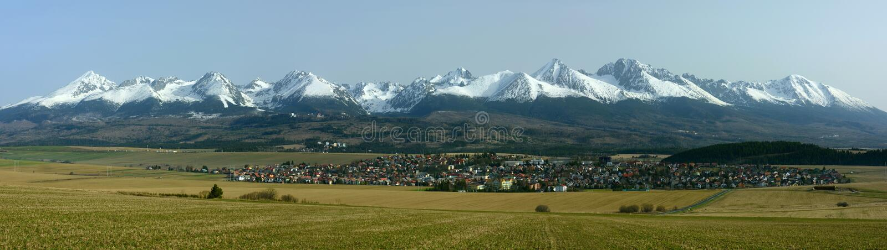 Strba kåt Liptov region, Slovakien arkivfoton