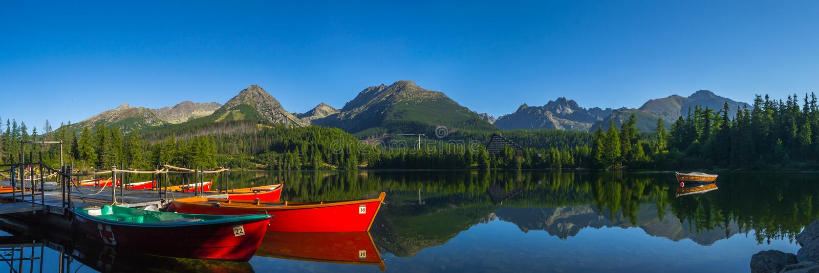Strbske Pleso - High Tatra stock photo