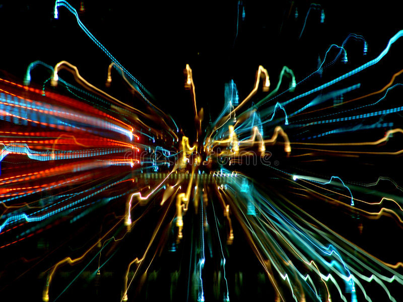 Download Streaks of light stock image. Image of movement, lines - 2438793