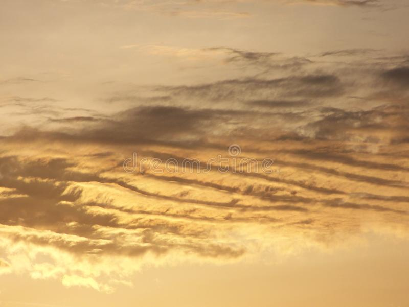 Streaky moln royaltyfria foton