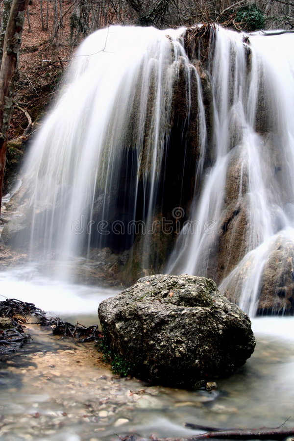 Free Stream In Krum At Fall Royalty Free Stock Photography - 3837577