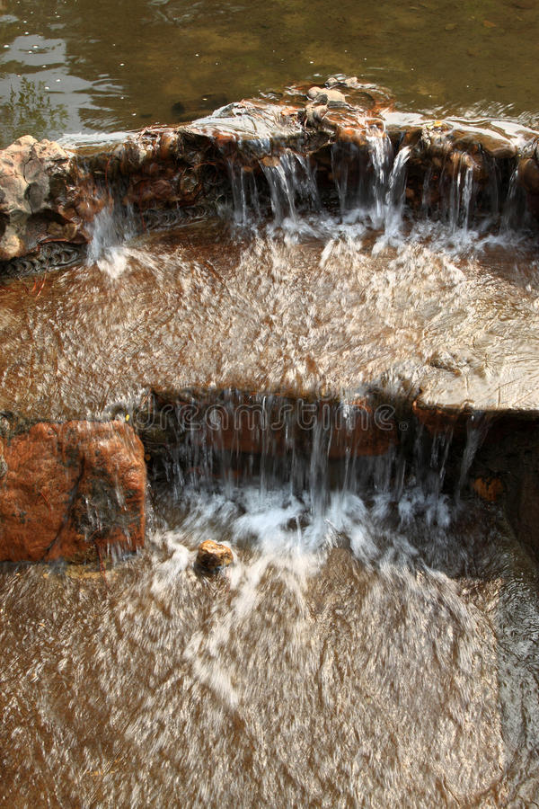 Stream in mountain. In a geological park stock images