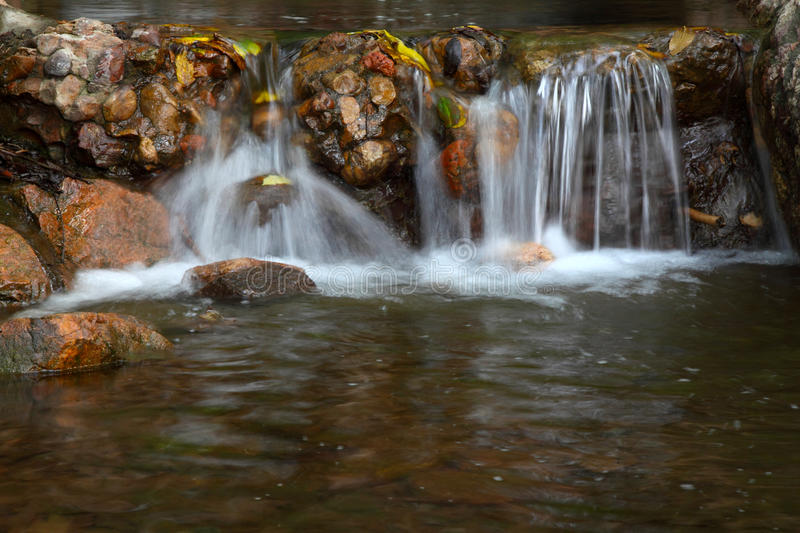 Stream in mountain. In a geological park royalty free stock photo