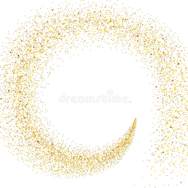 Free Stream Of Golden Particles Royalty Free Stock Photos - 98721238