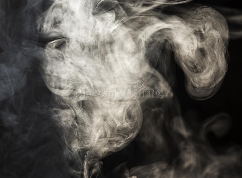 Stream of smoke royalty free stock photography