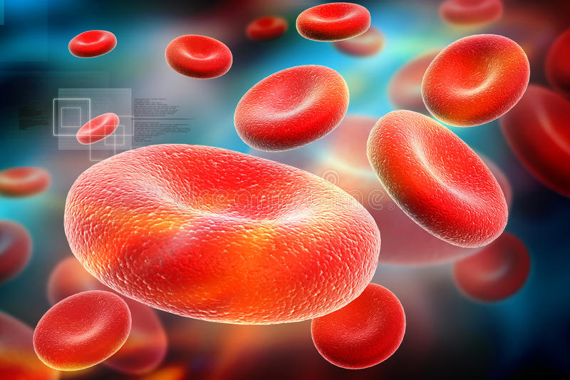 Download Streaming blood cells stock illustration. Image of experiment - 37141914