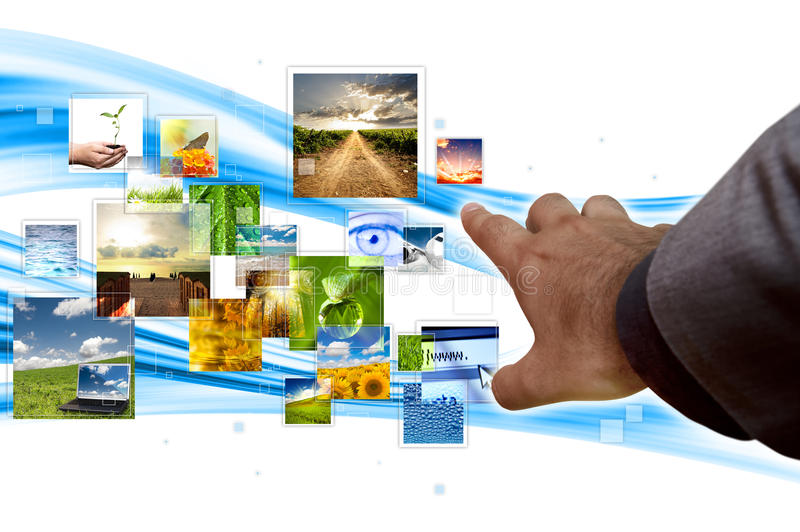 Download Streaming concept stock image. Image of stream, transfer - 15430103