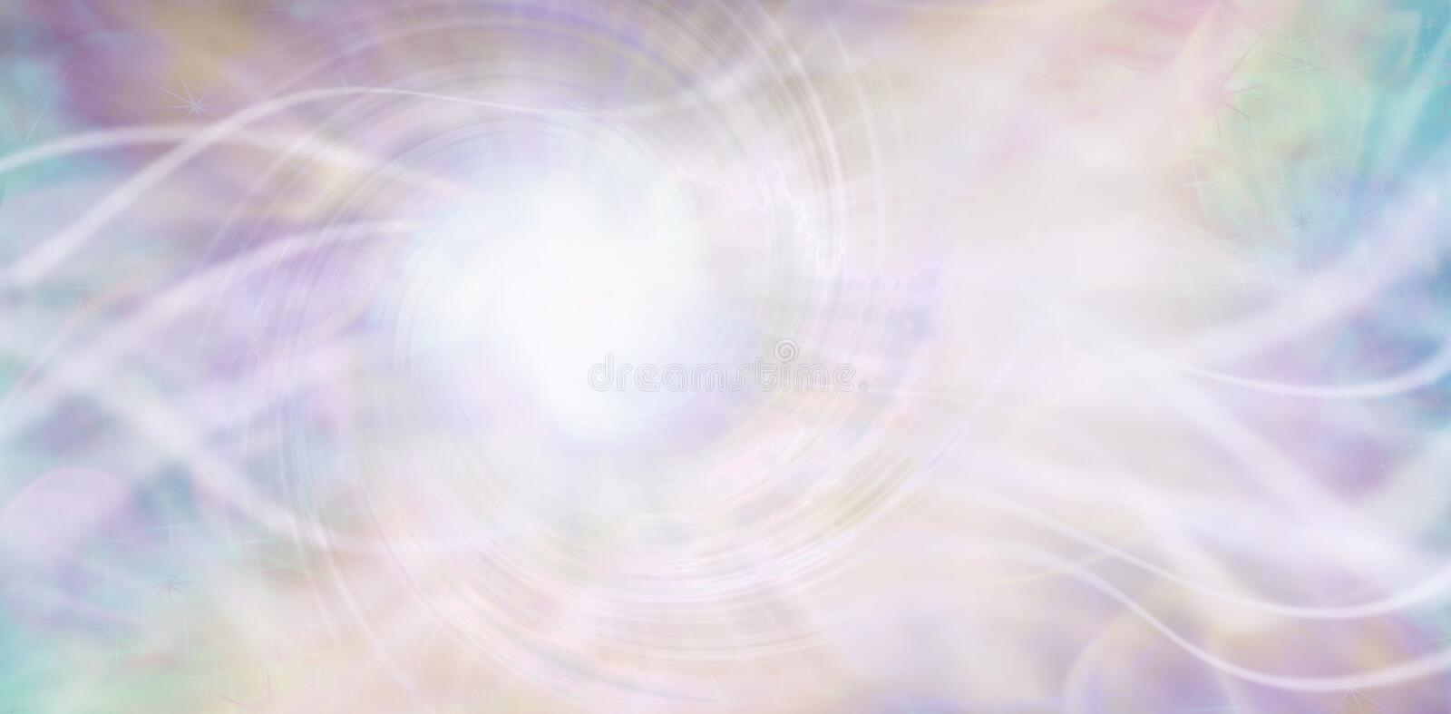 Streaming ethereal energy background vector illustration