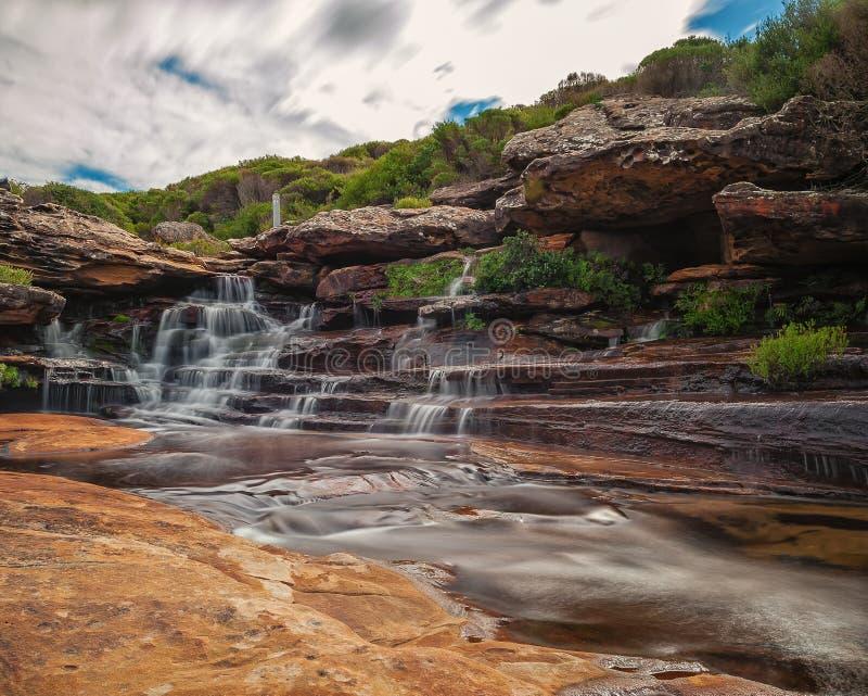 Streamlet en parc national images libres de droits