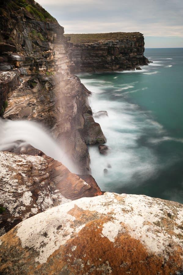 Streamlet en parc national image stock