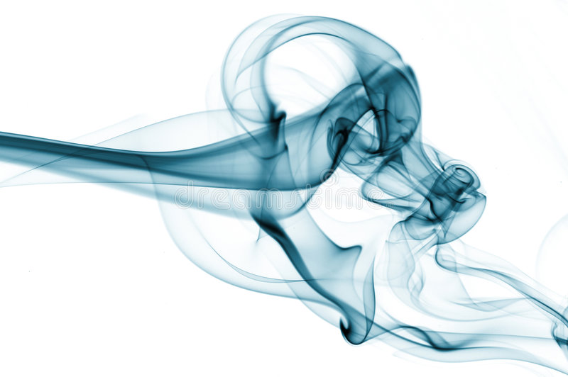 Streams Of A Smoke Royalty Free Stock Photos