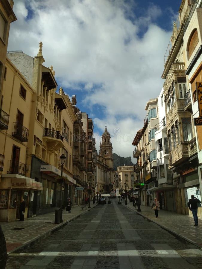 Streat Jaén стоковые изображения rf