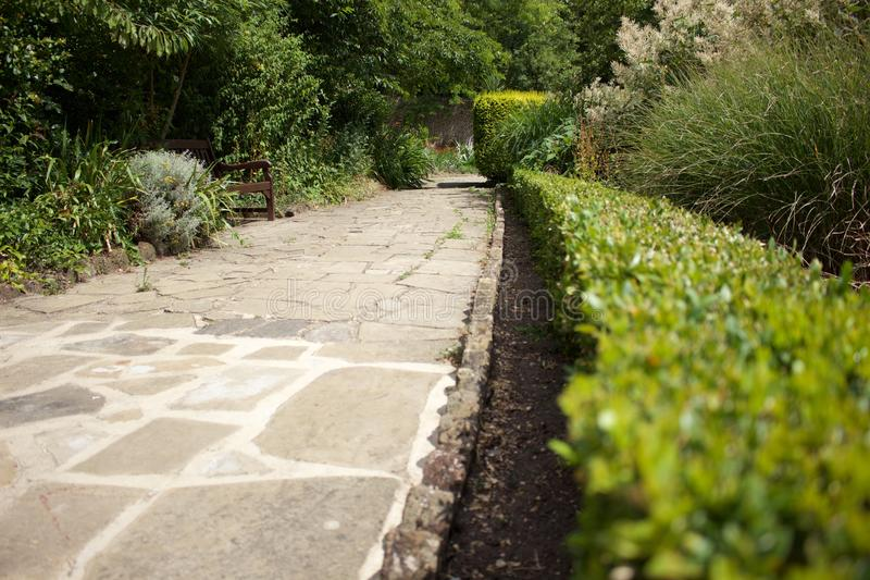 Streatham-Common-Park lizenzfreies stockbild