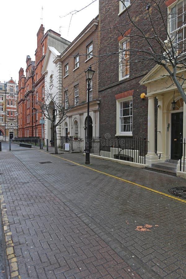 Streatham gata i London royaltyfri fotografi