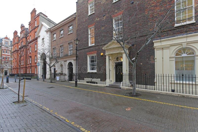 Streatham gata London royaltyfri bild