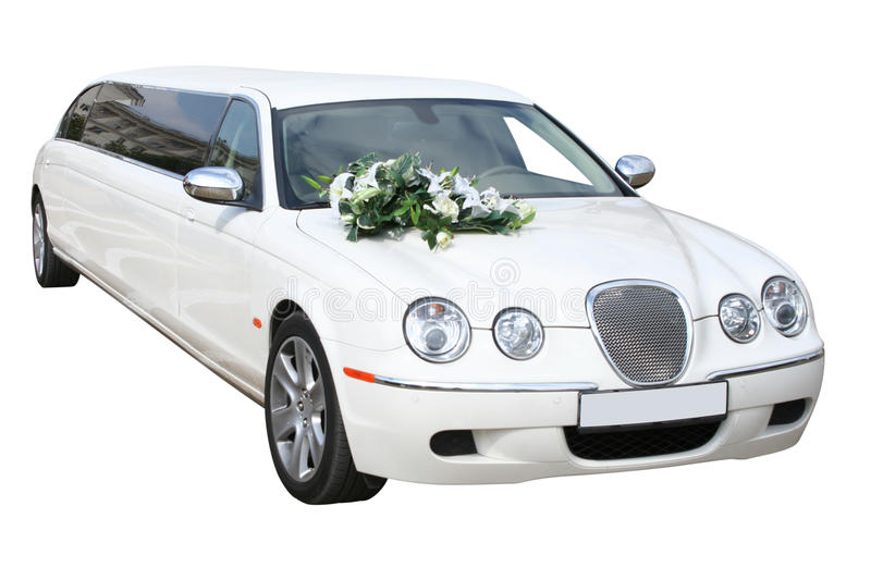 Strech Limousine royalty free stock images