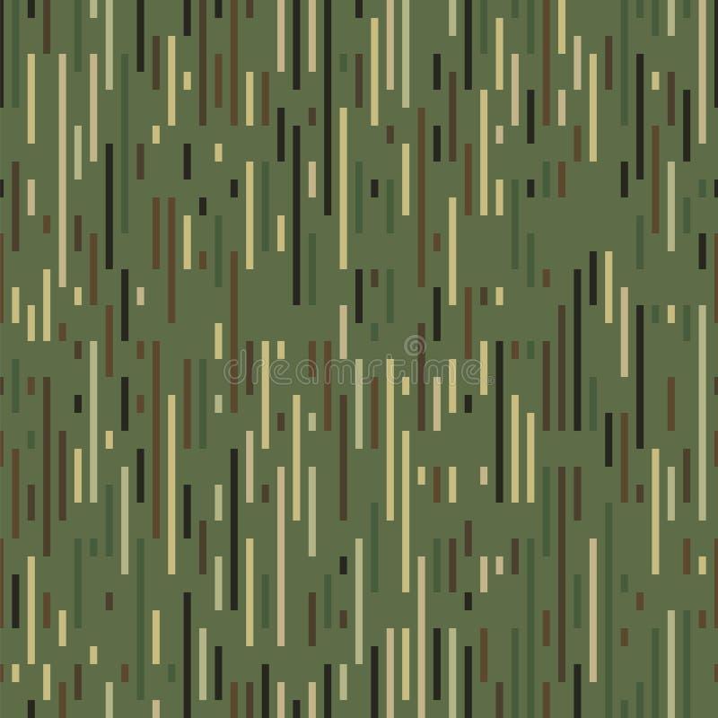 Streckad linje textur vektor illustrationer