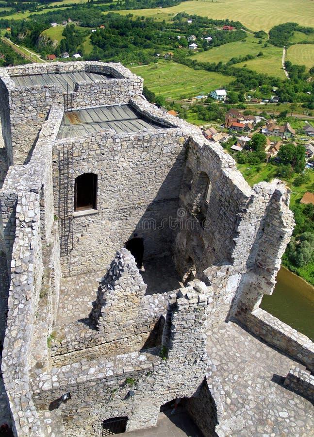 Strecno Caste - Tower stock photos
