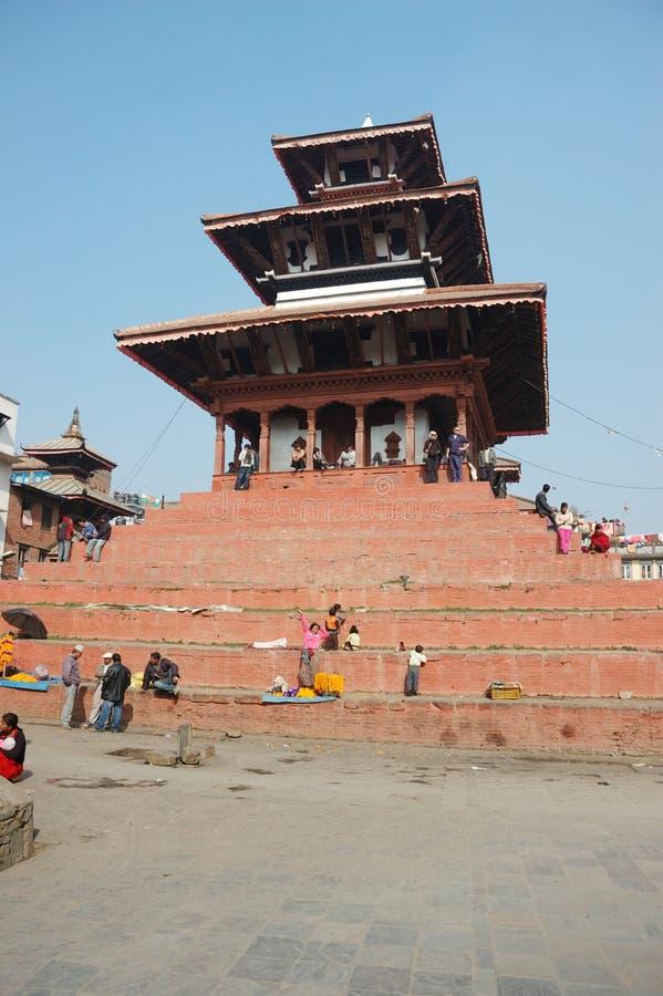 Stree life in Kathmandu,Nepal stock image