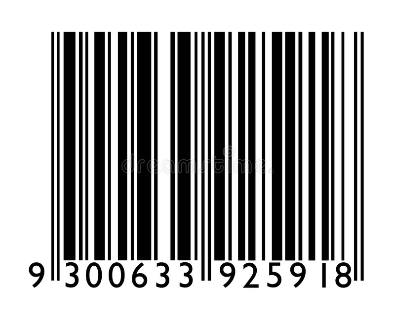 Streepjescode stock foto