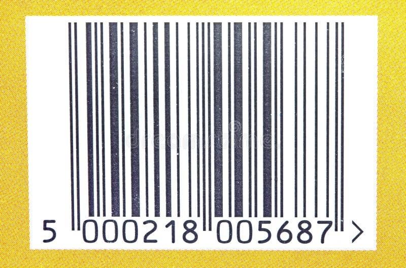 Streepjescode. royalty-vrije stock foto's