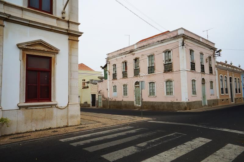 Street in Africa royalty free stock photography