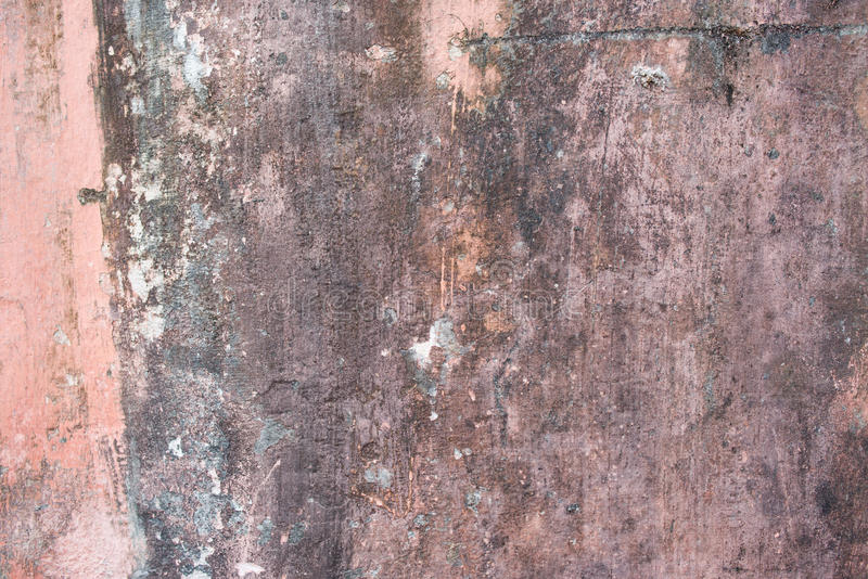 Street aged cement old wrecked rusty rough grunge stock photo
