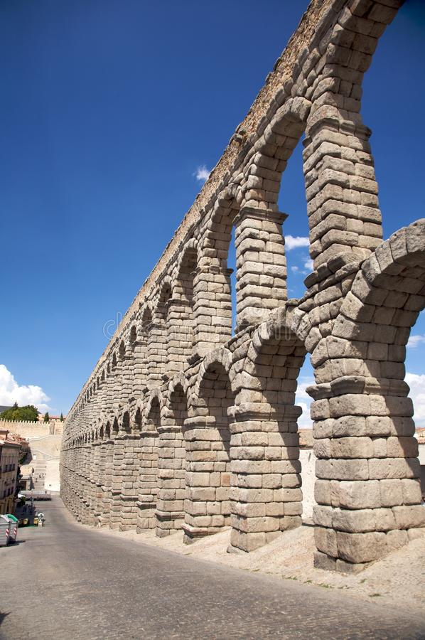 Download Street aqueduct stock image. Image of column, town, city - 12168511