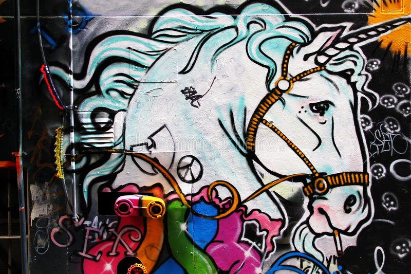 Street Art. royalty free stock image