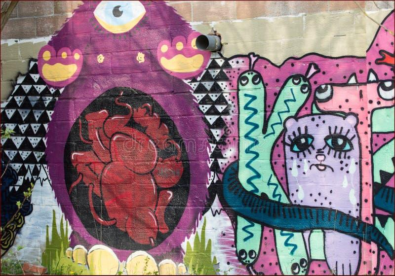 Street Art Editorial Image