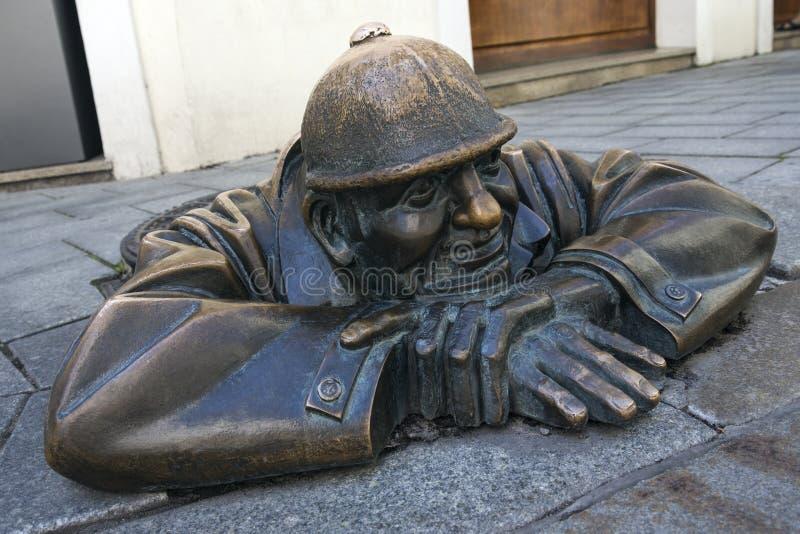 Street Art - Bratislava - Slovakia royalty free stock photography
