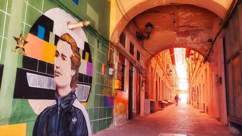 Street art in Craiova stock photography